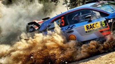 RALLY RACC · CATALUÑA COSTA DORADA.